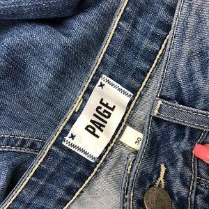 PAIGE Jeans - PAIGE Jeans Callie Crop Jeans